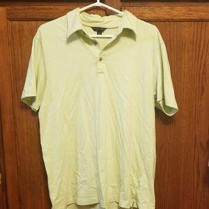 Green polo shirt - Size L, EUC